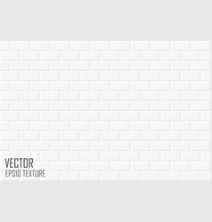 Brick wall seamless geometric texture white vector