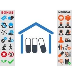 Drugs Garage Icon vector
