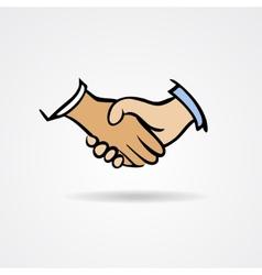 Handshake sketch symbol vector