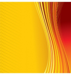 heat background vector image