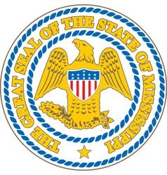Mississippi Seal vector