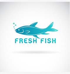 fish design on a white background aquatic vector image
