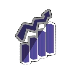 Growth up statistics vector
