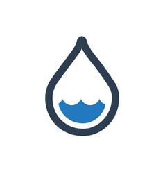 Low rain icon vector