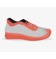 Sneaker sport gym icon vector
