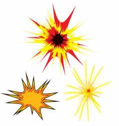 three star vector image vector image