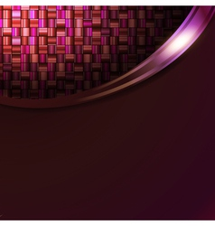 absract mosic background in frame vector image vector image