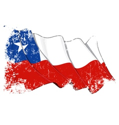 Chile Flag Grunge vector image