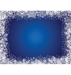 Holiday Blue Background vector image