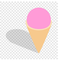 ice cream isometric icon vector image