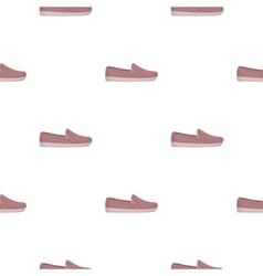 Moccasin icon in cartoon style isolated on white vector image