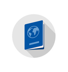 passport icon sign symbol vector image