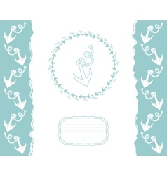 Template for greeting cards flyers or business vector image