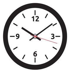 Clock face vector image vector image
