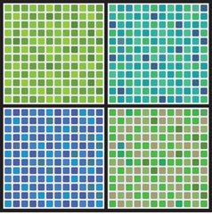 Cool Color Set Graphic Background vector image vector image