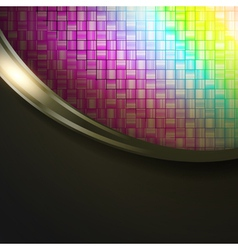 multicolored absract background vector image vector image