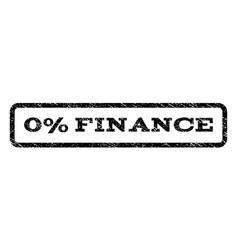 0 percent finance watermark stamp vector