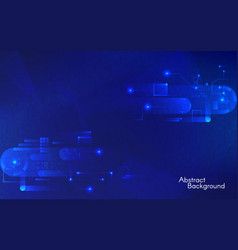 abstract technology background hi-tech concept on vector image