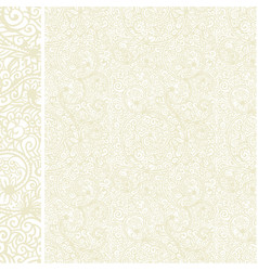 antique oriental seamless pattern vector image