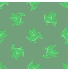 Cartoon Dino seamless pattern vector