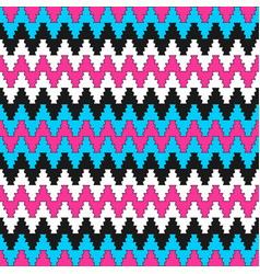 colorful ornamental pattern - seamless vector image vector image