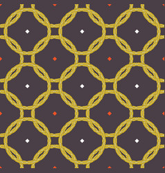 geometric seamless repeat pattern vector image