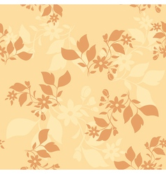light beige seamless pattern vector image
