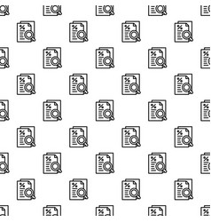 Procent paper pattern seamless vector