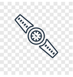 watches concept linear icon isolated on vector image