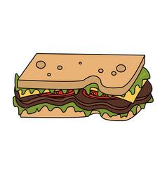 food icon image vector image vector image