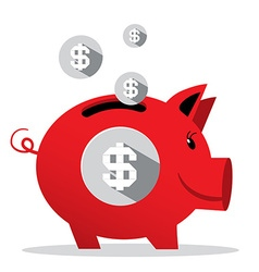 Piggy Bank - Pig Money Bank vector image