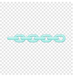 Chain icon cartoon style vector
