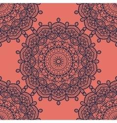 Mandala Print Seamless vector image