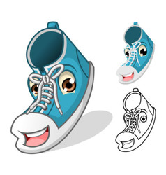 Shoes Mascot vector image