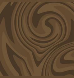 Flat brown wood background dark wooden texture vector