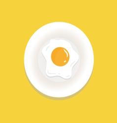 Fried-egg vector
