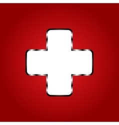 abstract for World First Aid Day vector image