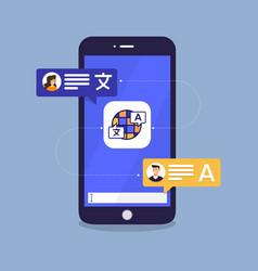 App translate language 03 vector