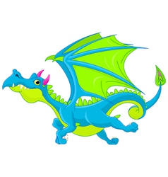 Cartoon dragon vector