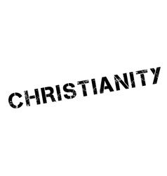 Christianity rubber stamp vector image