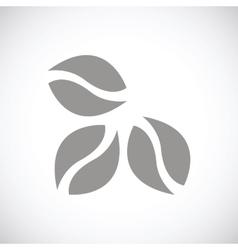 Coffee black icon vector
