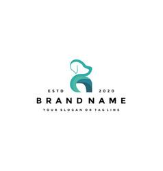 Creative design logo dog vector