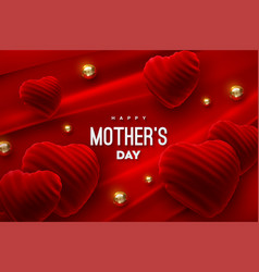 mothers day festive event banner vector image