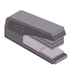 Paper stapler icon isometric style vector