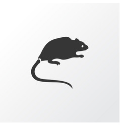 Rat icon symbol premium quality isolated mouse vector