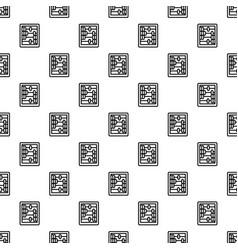 retro wood calculator pattern seamless vector image