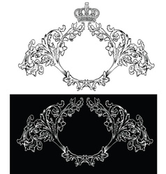 royal frames vector image
