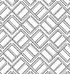 Shades of gray double countered bricks vector image