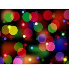 Spot lights vector image vector image