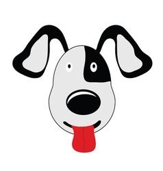 dog sweet cartoon vector image